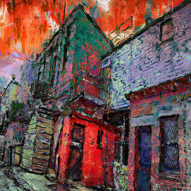 Carl Rolfe - Cobblestone Alley