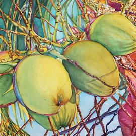 Christiane Kingsley - Coconuts at Sunset