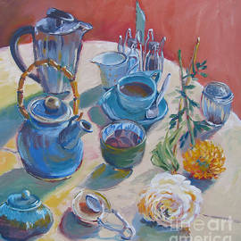 Vanessa Hadady BFA MA - Coffee And Tea