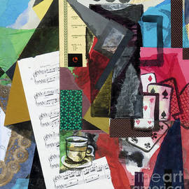 Phillip Castaldi - Coffee Pot and Playing Cards
