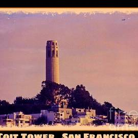 John Malone - Coit Tower Poster