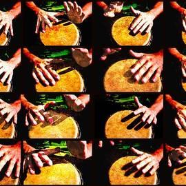 Alexander Senin - Collage Drum Bang Boom Yellow