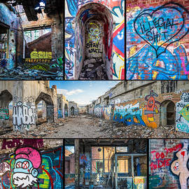 Steven Santamour - Collage of Graffiti