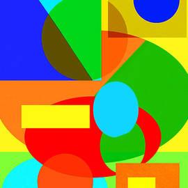 Regina Geoghan - Color and Shape Series #3