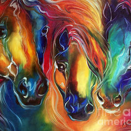 Marcia Baldwin - Color My World With Horses