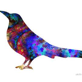 Ann Powell - Color Splash Bird