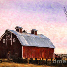 Janice Rae Pariza - Colorado Barn Sunset