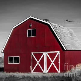 Janice Rae Pariza - Colorado Colorized Red Barn