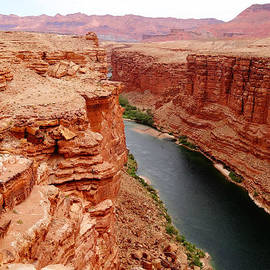Dan Sproul - Colorado River From Navajo Bridge