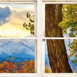 James BO  Insogna - Colorado Rocky Mountains Rustic Window View