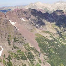 Aaron Spong - Colorado Summit Panorama - Pyramid Peak