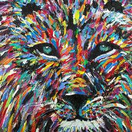 Jennifer Lombardo - Colorburst Lion