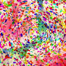 Susan Leggett - Colorful Abstract Circles
