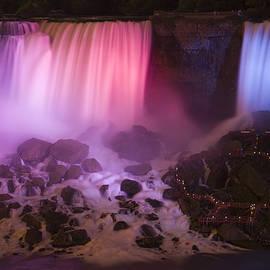 Adam Romanowicz - Colorful American Falls