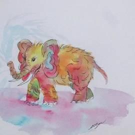 Ellen Levinson - Colorful Baby Elephant