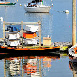 Marianne Campolongo - Colorful boats Rockland Maine