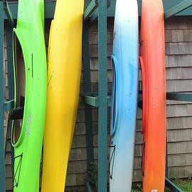 Anastasia Konn - Colorful Canoes