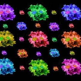 Bruce Nutting - Colorful Flowers Duvet