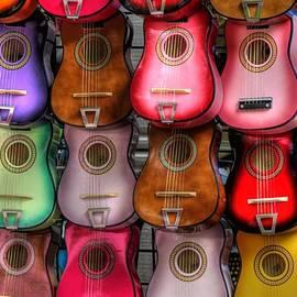 Tony  Colvin - Colorful Guitars