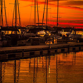 Serge Skiba - Colorful Lake Norman Sunset
