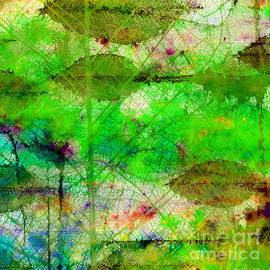 Debbie Portwood - Colorful Leaves Abstract I
