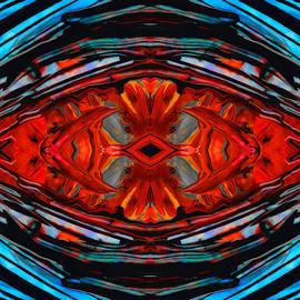 Sharon Cummings - Colorful Modern Art - Desire