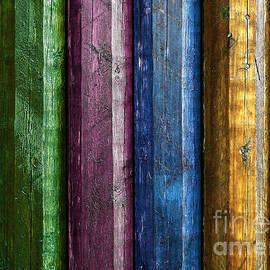 Carlos Caetano - Colorful poles