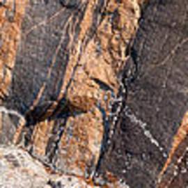Les Palenik - Colorful rock panoramic pattern