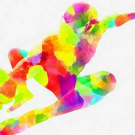 Eti Reid - Colorful spiderman abstract