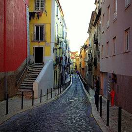 Noa Yerushalmi - Colorful Street in Lisboa