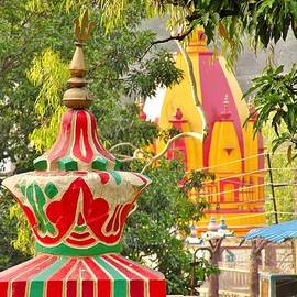 Kim Bemis - Colorful Temples in Rishikesh India