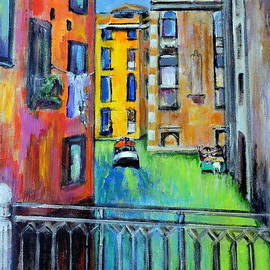 Jodie Marie Anne Richardson Traugott          aka jm-ART     - colorful Venice