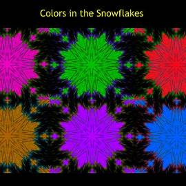 Bruce Nutting - Colors in the Snowflakes