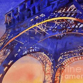 Ryan Fox - Colors of Paris- Eiffel Tower