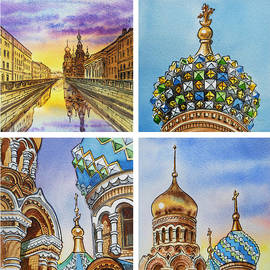Irina Sztukowski - Colors Of Russia Church of Our Savior on the Spilled Blood
