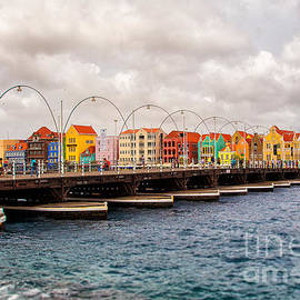 Rene Triay Photography - Colors of Willemstad Curacao and the Foot Bridge to the City