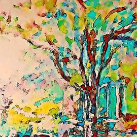 Stanley  Funk - Colourful Cherry Tree