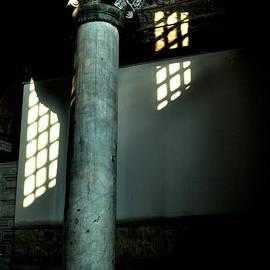 Bener Kavukcuoglu - column of Hagia Sophia Istanbul