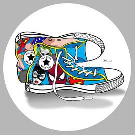 Mark Ashkenazi - Comics Shoes 2