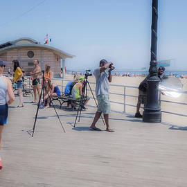 Frank Winters - Coney Island Photo Shoot