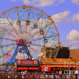 Photographic Art and Design by Dora Sofia Caputo - Coney Island Wonder Wheel