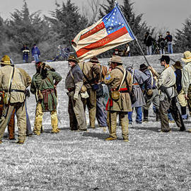 John Straton - Confederate Battle Line