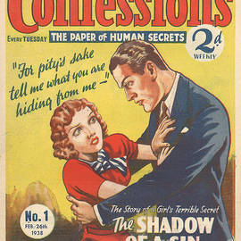 The Advertising Archives - Confessions 1938 1930s Uk Arguing