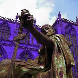 ARTography by Pamela  Smale Williams - Constantine the Emperor at Yorkminster