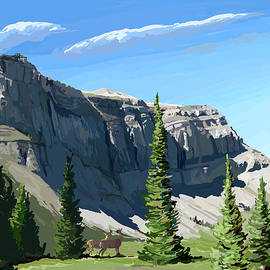 Pam Little - Continental Divide Scapegoat Mountain