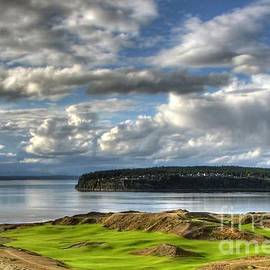 Chris Anderson - Cool Clouds - Chambers Bay Golf Course