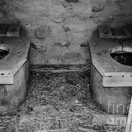 Dewayne Eakins - Cooperton Oklahoma Outhouse