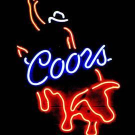 Steven Parker - Coors bull rider arm up