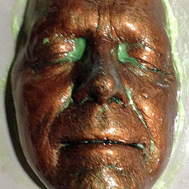 Dedo Cristina - Copper And Green Face