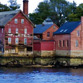 Donna Doherty - Copper Paint Building